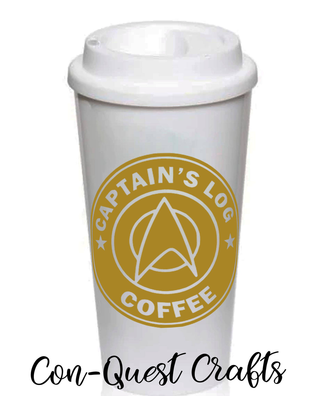 Star Trek Inspired Permanent Decals - DECAL ONLY