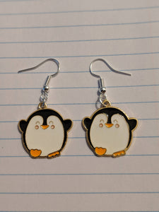 Penguin Earings
