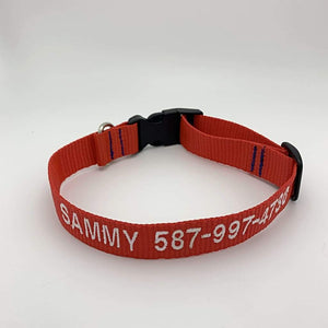 Dog Collar 1 line of text