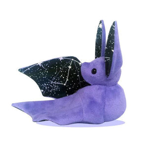 Handmade Purple Glow in the Dark Constellation Bat Doll - Multiple Colour Options - Made To Order