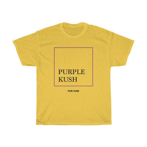 PURPLE KUSH Heavy Cotton Tee