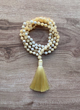 Load image into Gallery viewer, Mala Necklace - Sunflower
