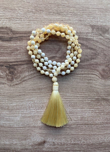 Mala Necklace - Sunflower