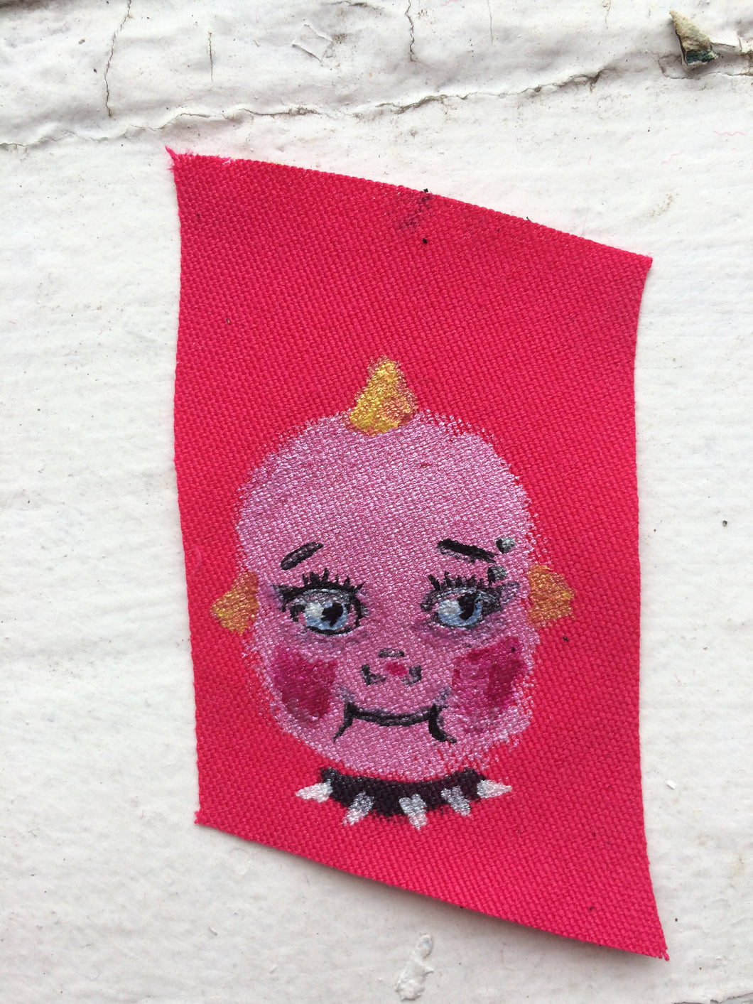 Punk Kewpie Sew On Patch