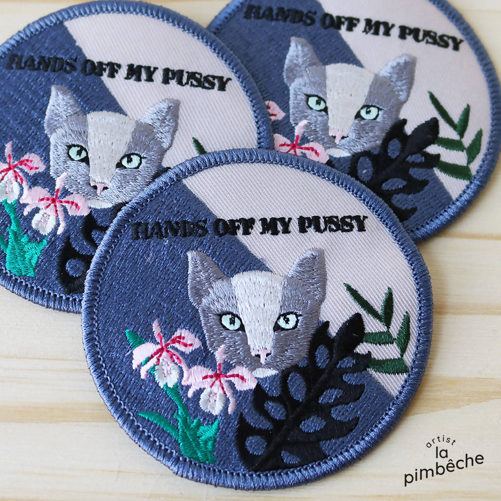 Hands off my pussy patch