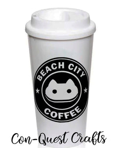 Beach City Fusion inspired Permanent Decal - DECAL ONLY