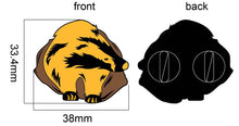 Load image into Gallery viewer, Loyal Badger Enamel Pin Badge Harry Potter Hufflepuff Inspired Gift For Her/Him
