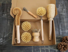 Load image into Gallery viewer, Zero Waste Kitchen Set | Best Value Cleaning Tool Kit | Zero Waste Gift