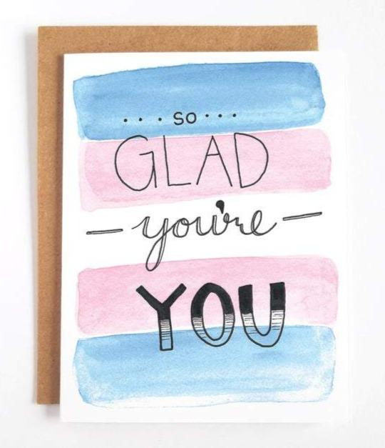 So Glad You're You Greeting Card
