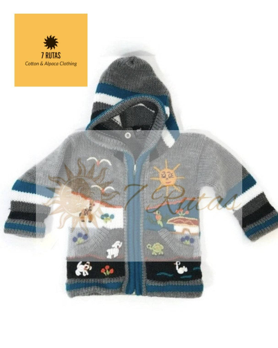 Boys animal sweater