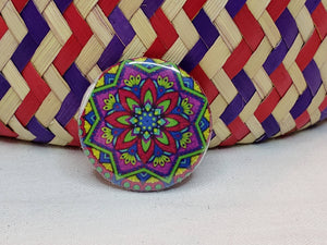 "1"" Button - Mandala"