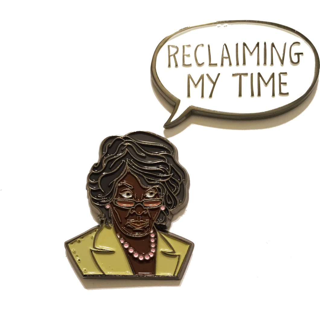 'RECLAIMING MY TIME' PIN SET