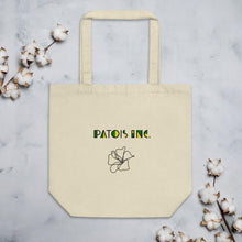 "Load image into Gallery viewer, Patois Inc.|""Jamaican Hibiscus"" Eco-Tote Shopper"
