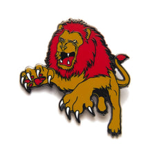 Load image into Gallery viewer, Brave Lion Enamel Pin Badge Harry Potter Gryffindor Inspired Gift For Her/Him