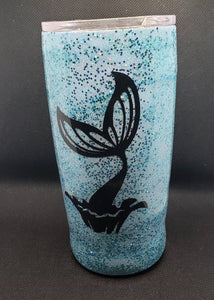 Mermaid Vibes 20oz Glitter Tumbler