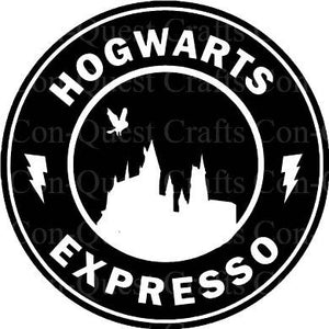 Hogwarts Inspired Permanent Decal - DECAL ONLY