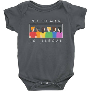 No Human is Illegal Bodysuit