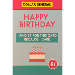HAPPY BIRTHDAY POSTCARD