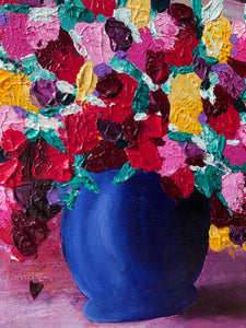 A Summer Bouquet - Acrylic Painting - Art Home Decor