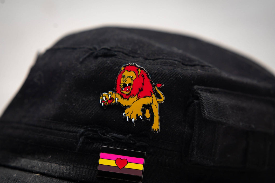 Brave Lion Enamel Pin Badge Harry Potter Gryffindor Inspired Gift For Her/Him