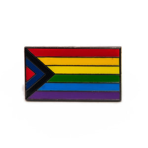Social Justice Pride Flag Enamel Pin Badge Rainbow Lapel LGBTQ Gift For Her/Him
