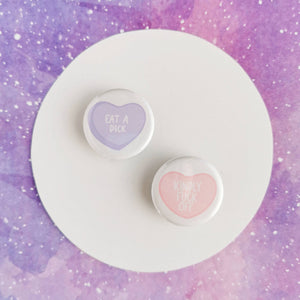 Candy Hearts With Sass Pins