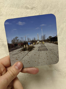 Leslie Spit / Tommy Thompson Park Toronto Coaster Set & Mini Zine - Entrance, Bird Sanctuary, Bricks on the Shore, Herons