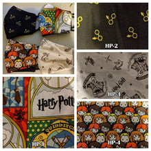 Load image into Gallery viewer, Cotton Fabric- Harry Potter, Super Heroes, Star Wars, Summer, Cottage, wine and more themes! See description!