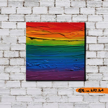 Load image into Gallery viewer, The First Pride Was A Riot - Original Acrylic Painting - Art Home Decor by Rina Kaz - Wall Art