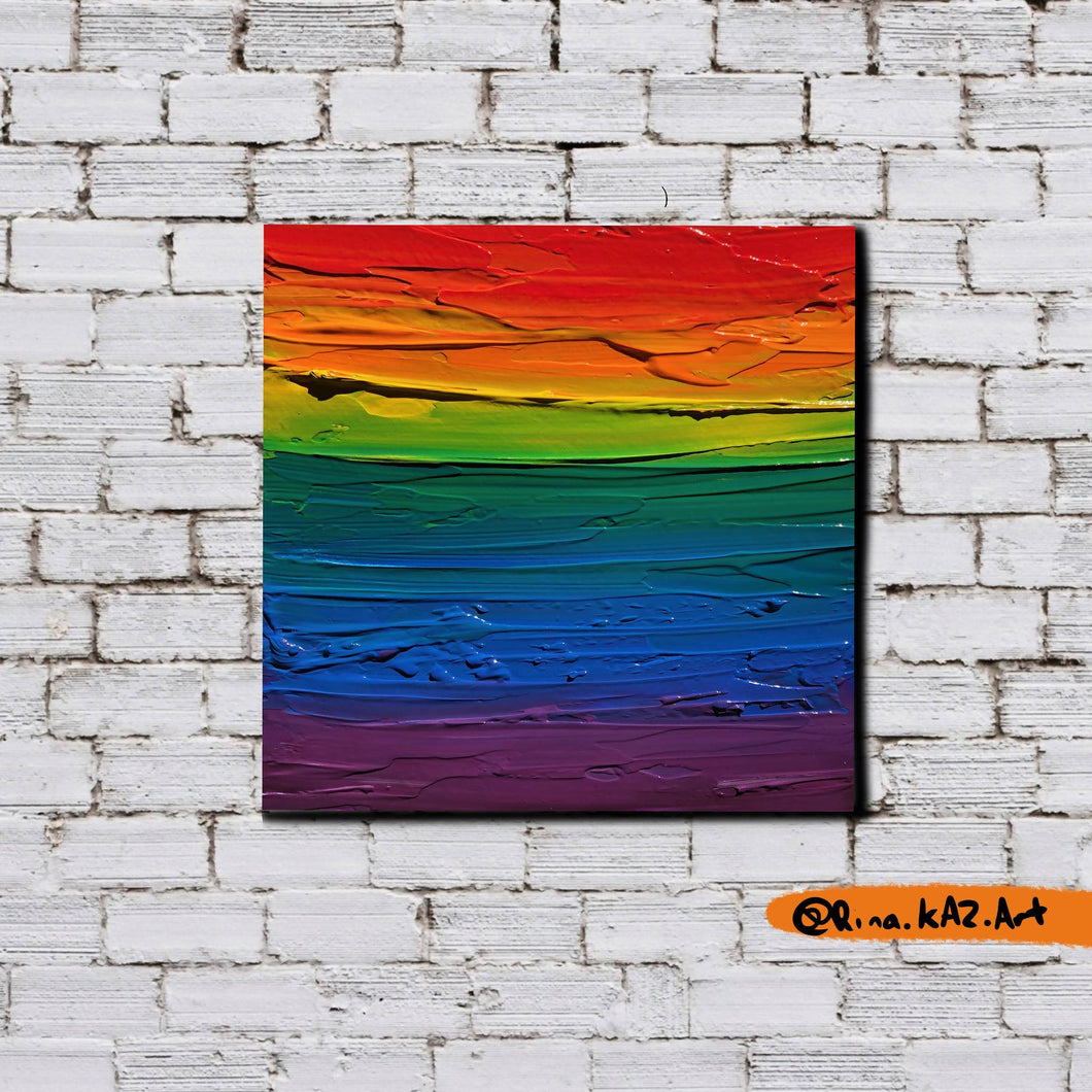 The First Pride Was A Riot - Original Acrylic Painting - Art Home Decor by Rina Kaz - Wall Art