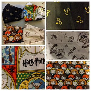 Harry Potter Inspired Face Masks