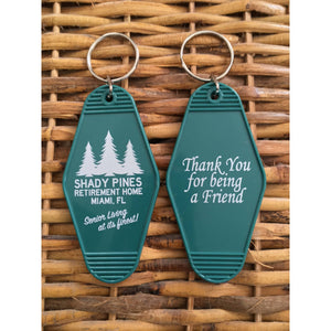 Shady Pines Key Tag 2-pack