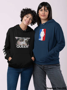 Wishing You Were Queer Hoodie