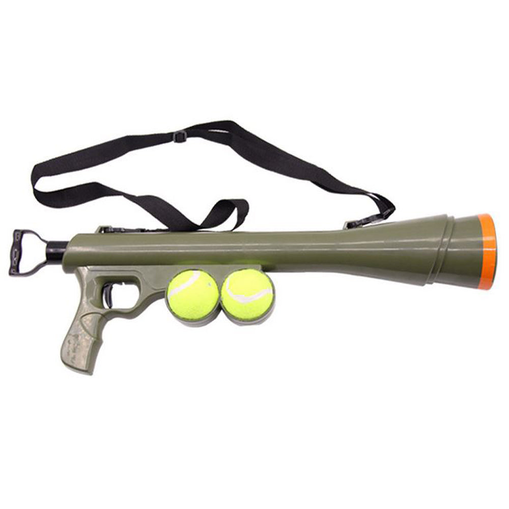 Dog ball gun