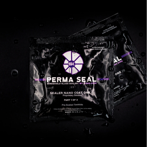 Perma Seal™ Full Car Kit (4-Pack) + Free Microfiber Cloth