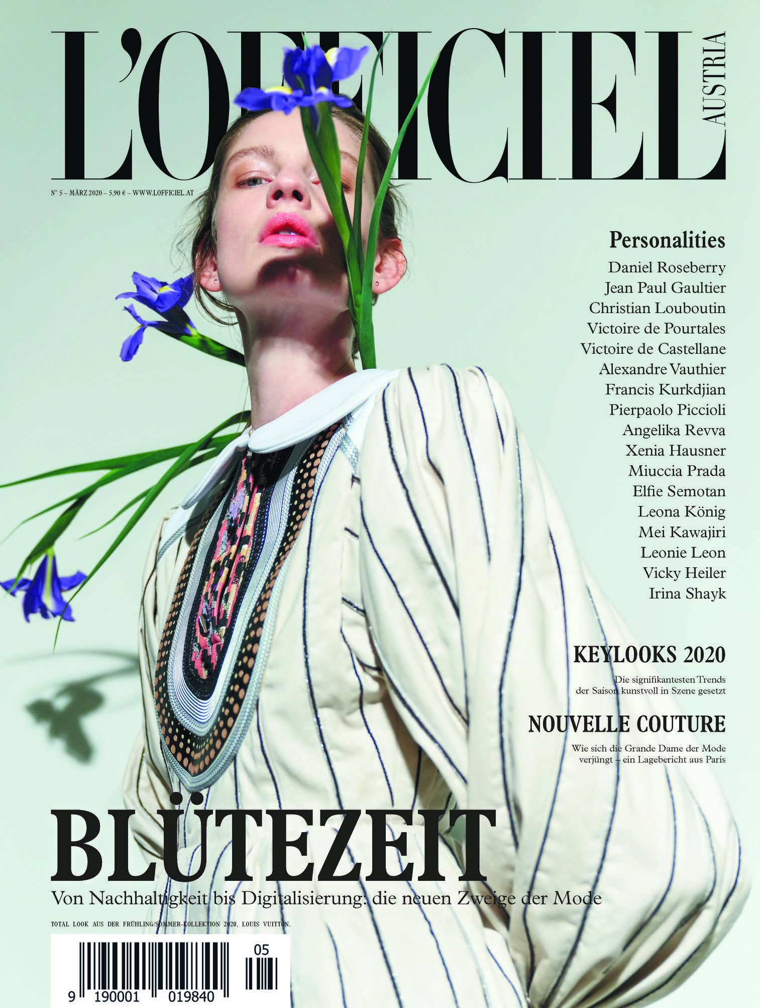 l'Officiel Austria March 2020 - VIKTORIA LOUISE Feature