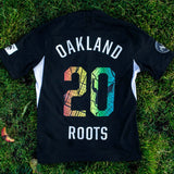 2020 Roots SC Nike Black Jersey