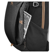 Load image into Gallery viewer, bolsillo externo morral quechua negro