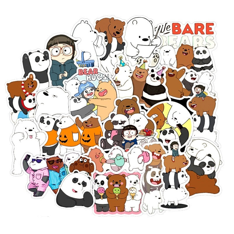 We Bare Bears - 36pcs