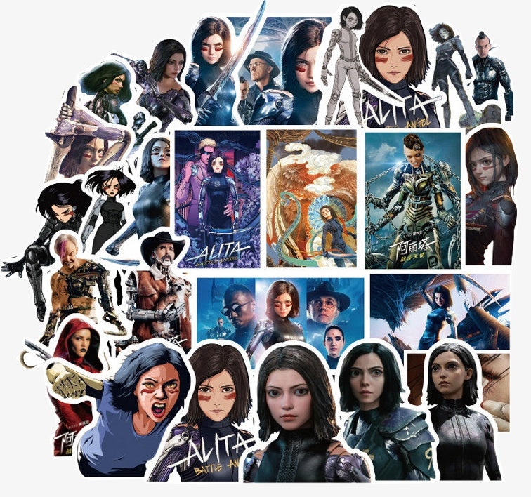 Alita: Battle Angel - 50pcs
