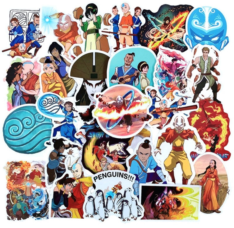 Avatar: The Last Airbender - 50pcs