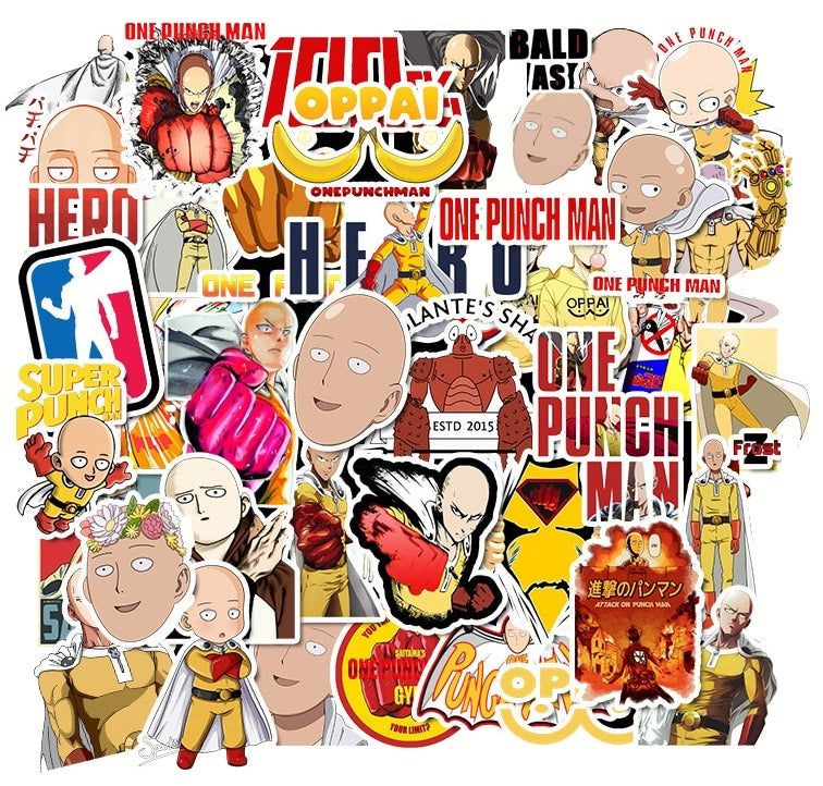 One Punch Man A - 50pcs