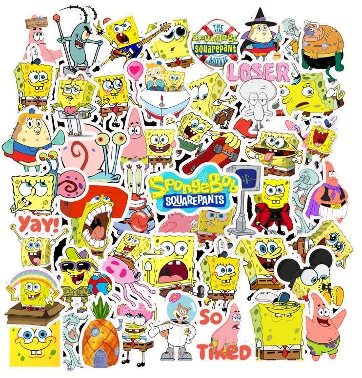 Spongebob - 50pcs