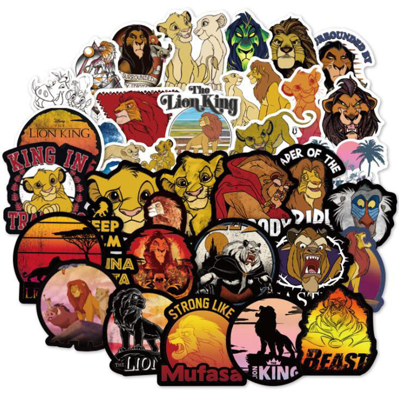 The Lion King - 50pcs