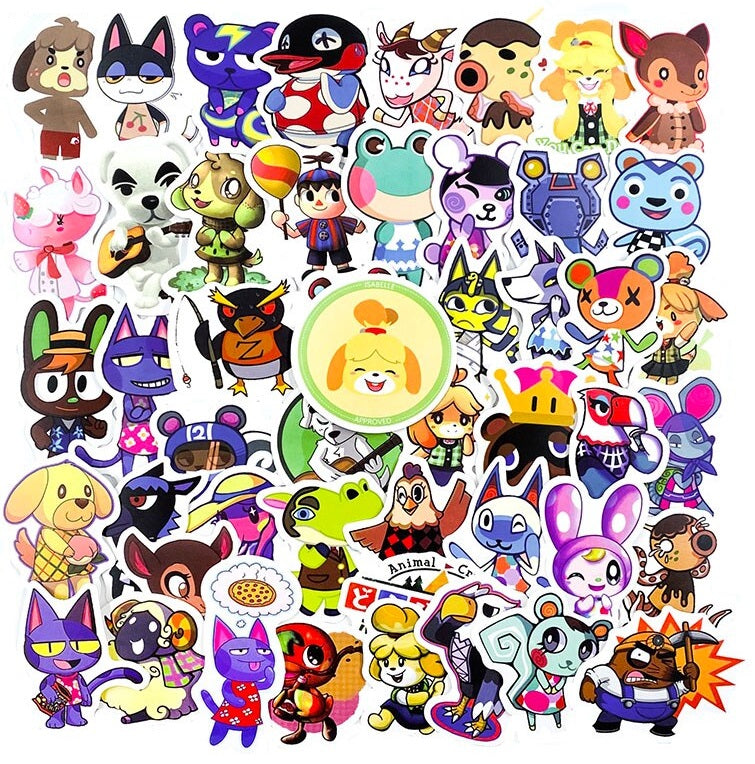 Animal Crossing - 60pcs