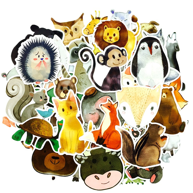 Cute Animals - 50pcs