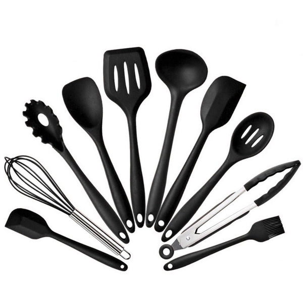 11Pcs Silicone Baking Tool Utensils Kit With Storage Box