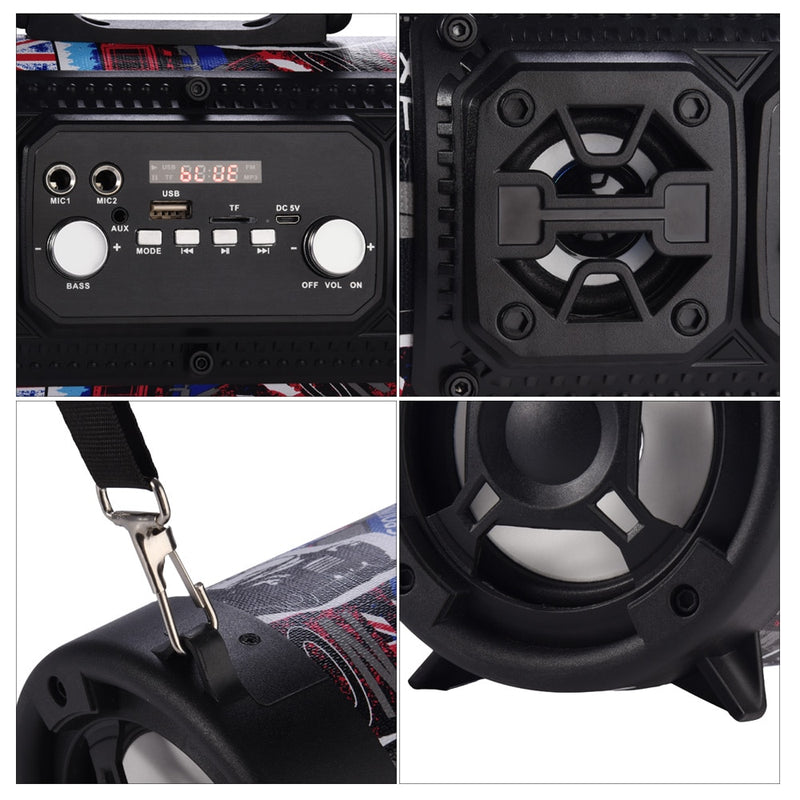 16W Portable Wireless Subwoofer Sound System