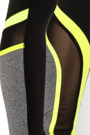 Color Blocked Yoga Legging