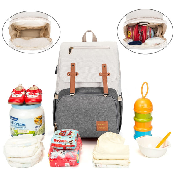 Travel Stroller Baby Diaper Backpack